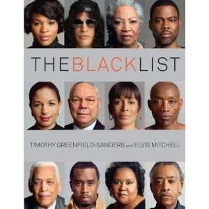 The Black List [Hardcover] Timothy Greenfield Sanders Books