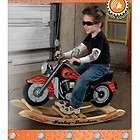 KidKraft Harley Davidson Girl Roaring Softail Motorcycle Rocker