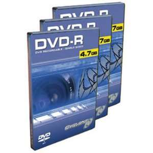 10PK DVDr 2X 4.7GB Media Movie Case High Quality 2 Hours