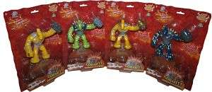 GORMITI   12cm Gheos 1st Series Action Figure Set (4) #NEW