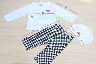 BNWT Cute Boy Baby Chef Costume Outfits with Top Pants Hat 3 15 months
