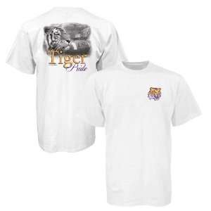 LSU Tigers White Tiger Pride T shirt
