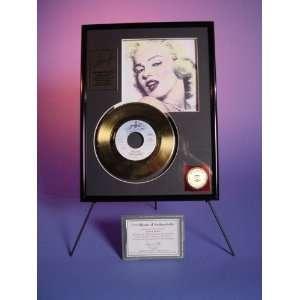 Marilyn Monroe 24 Kt Gold Record heat Wave Sports