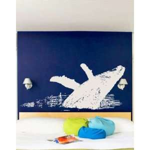 Vinyl Wall Art Decal Sticker Whale Jumping (s) Everything