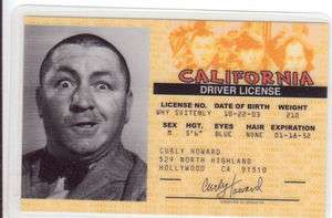 Howard of the Three Stooges Marilyn Monroe THE GODFATHER or other id