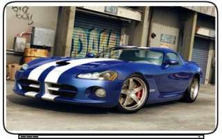 Dodge Viper Laptop Netbook Skin Decal Cover Stickers