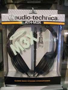 Audio Technica ATH M3X DJ/Studio Headphones