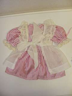 Party Pinafore Dress Circlet Doll Outfit American Girl Clothes