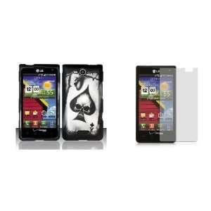 LG Lucid (Verizon) Premium Combo Pack   Black Ace of