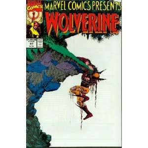Marvel Comics Presents #87 Wolverine Books