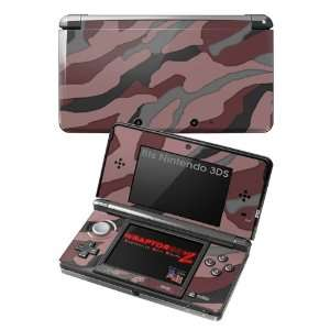 Nintendo 3DS Skin   Camouflage Pink