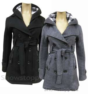 MILITARY Ladies JACKET COAT Black and Charcoal Grey Size 6 8 10 12