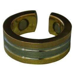 Stainless Steel Copper/ Gold/ Silver Ring (Size 6)