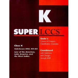 Schedule KDZ (SUPERLCCS Schedule Kdz Law of America, Latin America