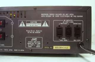 Repair/Parts* JVC Stereo Integrated Amplifier AX 70