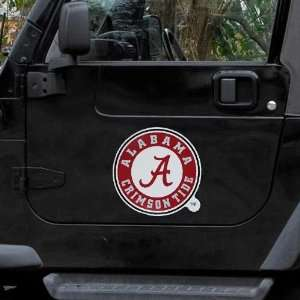 Alabama Crimson Tide 12 Team Logo Car Magnet Sports