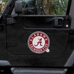 Alabama Crimson Tide 12 Team Logo Car Magnet Sports