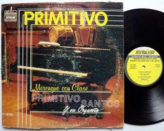 PRIMITIVO SANTOS Y SU ORQUESTA Merengue Con Clase LP