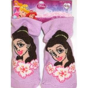 Disney Princess Belle Baby Booties Socks (18 24m) Baby