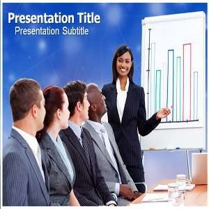 Sales team success PowerPoint Template   Sales team success PowerPoint