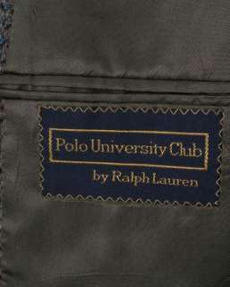POLO Ralph Lauren Tweed Sport Coat Brown 39R PERFECT
