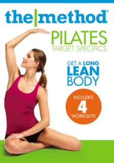 The Method   Pilates Target Specifics Abs, Arms, Hips, Thighs (DVD)