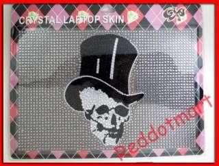 Bling Fashion Rhinestone Notebook Laptop sticker LS 103