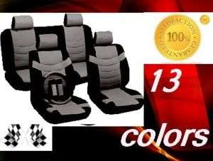11 Piece Superior Car SEAT COVERS (MOST POPULAR) zs