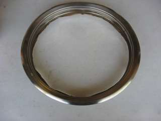 Datsun 810 C210 Skyline Chrome 13 Inch Wheel Trim Ring