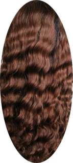 10 deep wave brown human remy Indian hair full lace wigs
