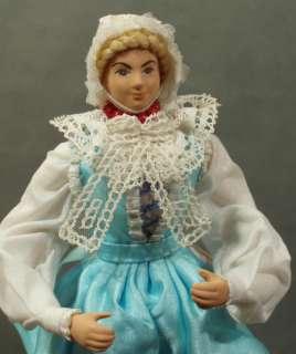 Polish Doll Couple ethnic folk costume 15 handmade regional dolls