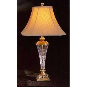 Antique Brass With Crystal Table Lamp Home Improvement