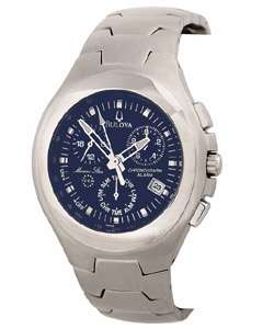 Bulova Marine Star Mens Chronograph Watch  Overstock