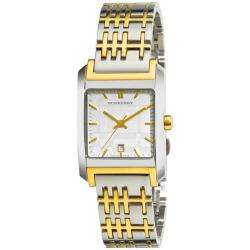 Burberry Womens Nova Check Two tone Watch