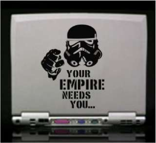 Star Wars Empire Stormtrooper Funny Die Cut Vinyl Decal