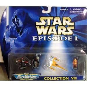 Star Wars Micro Machines Episode I Collection VIII Toys