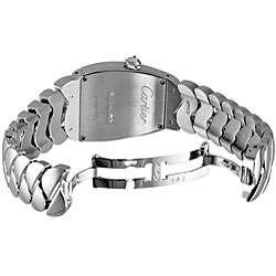 Cartier Womens La Dona 18k White Gold Diamond Watch