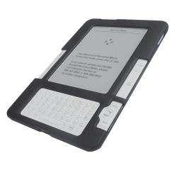 SKQUE Kindle 2 Black Rubberized Case