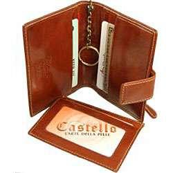 Castello Colombo Leather Keychain Wallet