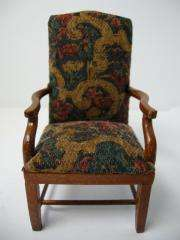 Dollhouse Miniature Famous Maker Furniture 1012 Arm Chair