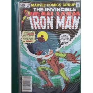 The Invincible Iron Man #158 Jim Salicrup Books