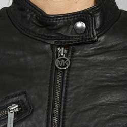 MICHAEL Michael Kors Womens Leather Motorcross Jacket