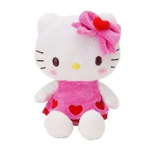 Hello Kitty 8 Inch Plush  Shiny Heart Toys & Games