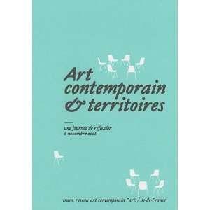 Art contemporain & territoires (9782953415308) Institut