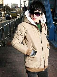 2011 NEW Mens Winter Warm Jacket Parka Coat Outwear