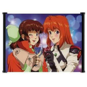 Xenogears Anime Game Fabric Wall Scroll Poster (23x16