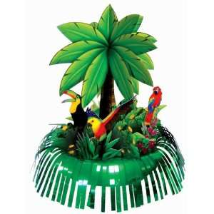 : Lets Party By Amscan Fringe Palm Tree Centerpiece: Everything Else
