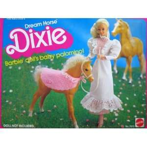 Barbie Dream Horse Dixie Baby Palomino (1983) Toys