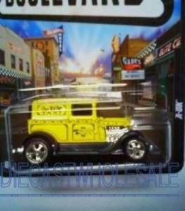 2012 Hot Wheels Boulevard Series Legends A OK Yellow