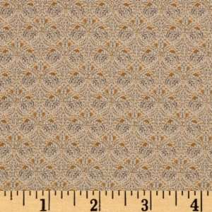 44 Wide Moda A Morris Tapestry Indienne Cream Fabric By